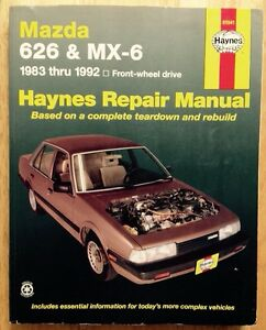 1983 1984 1985 1986 1987 1988 1989 1990 1991 1992 mazda 626 mx 6 rh ebay ie BMW Workshop Manual Ford Workshop Manuals