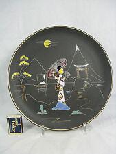 """Beautiful 50´s  Design Ruscha Keramik Wandteller """" Nippon """" wall plate 717 / 2"""