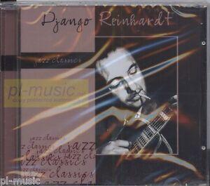 DJANGO-REINHARDT-JAZZ-CLASSICS-CD-sealed-from-Poland