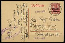 Dt. Bes. I. WK Belgien Nr. P 7 Brief (1686008318)