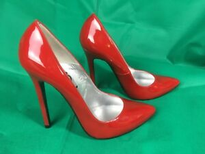 70de87c2b4d Details about Stunning Lois Point Patent Red, Killer Stiletto Heels! By  Schuh ,Size EU,40