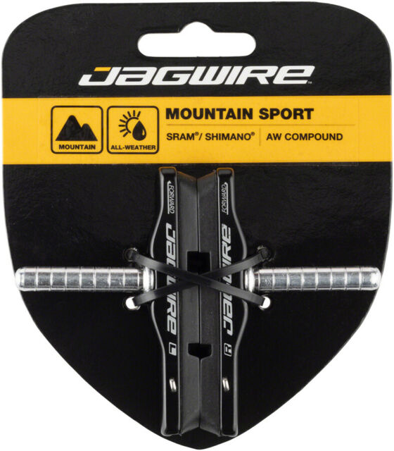 Jagwire Mountain Pro Black Canti Cartridge Brake Shoes