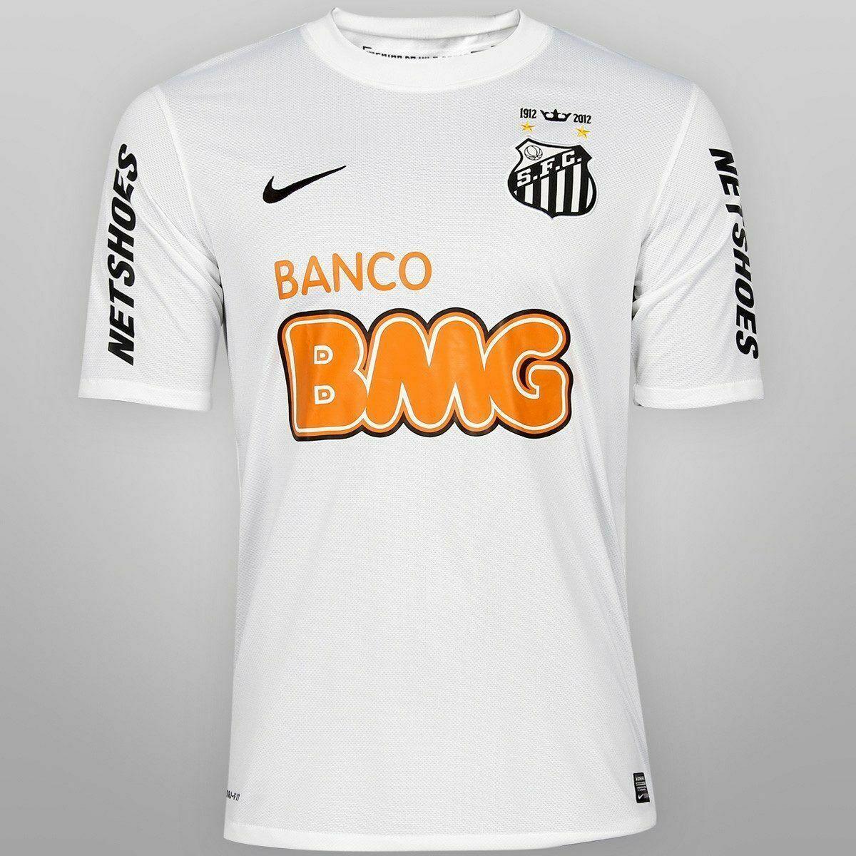 Camiseta Santos 2012 13 nuevos y en Caja Fútbol Brasil Neymar Jersey Local Talla 2XL XXL