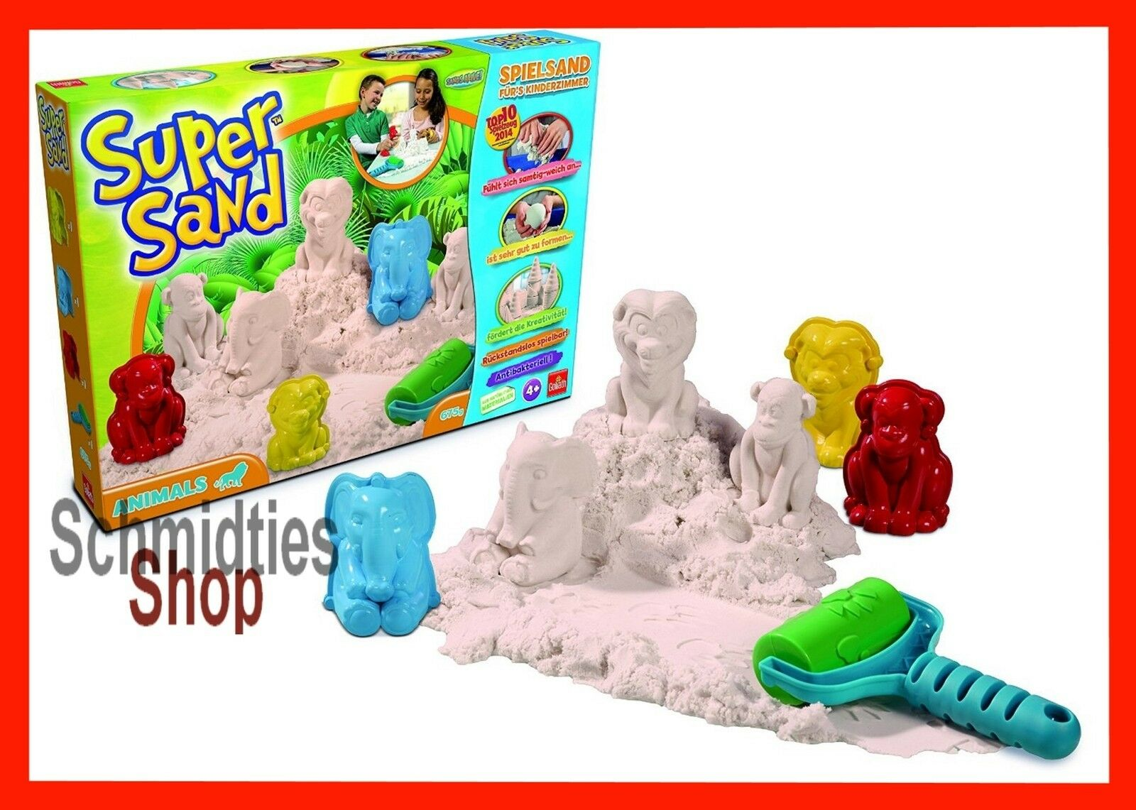 Goliaht - Super Sand™ - Animals (675g)(Art.83213)  | Vollständige Spezifikation