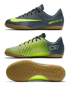 24e50809d5c NIKE CR7 MERCURIALX VAPOR XI IC JUNIOR YOUTH INDOOR SOCCER FUTSAL ...