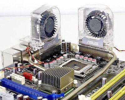 Aktiv 2x Asus Motherboard Mainboard Fakultativ Kühler Chipsatz Vrm Heatpipe GüNstige VerkäUfe