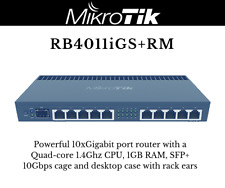 MikroTik RouterBoard Rb2011ls-in Gig SFP Port Plus 10