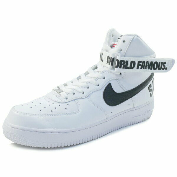 SUPREME NIKE 14AW AIR FORCE 1 HIGH SUPREME US SP 698696-100 sneaker blanc US SUPREME 10 06ade5