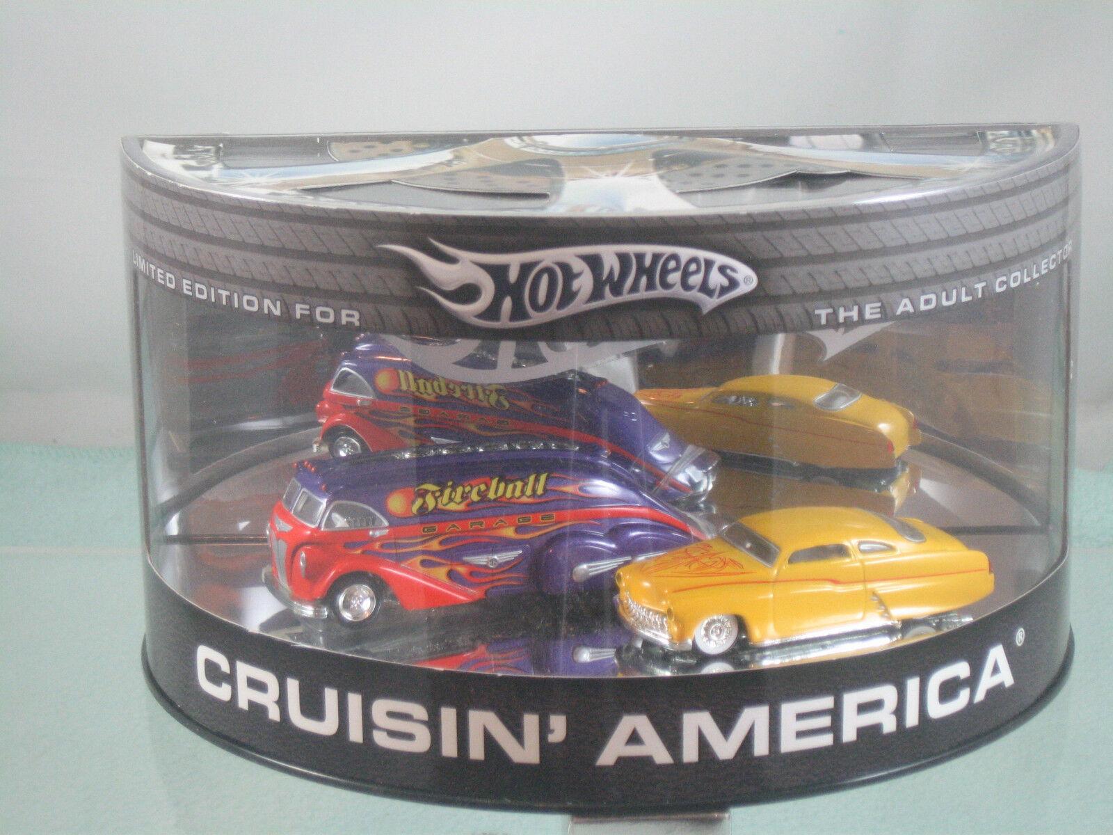 Hot Wheels Cruisin 'America Edición limitada conjunto de coche
