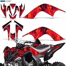 Decal Graphic Kit Yamaha Raptor 700 ATV Quad Decal Wrap 700R Deco 07-12 ICE RED