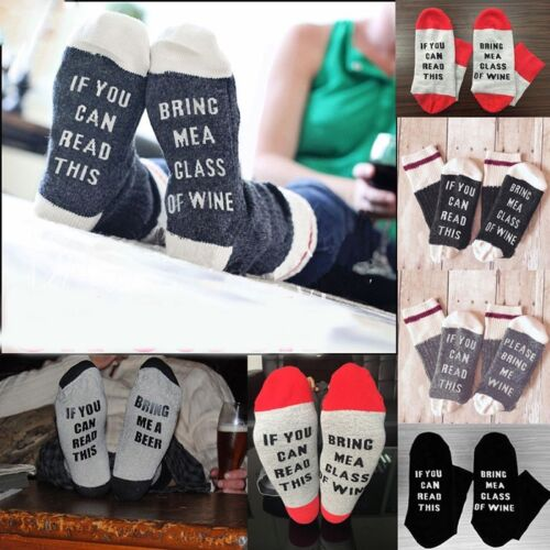 Socks If You Can Read This//Please Bring Me Wine Men Woman Unisex Socks