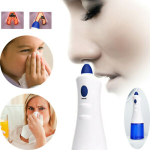 Electric Aspirator Nose Cleaner Safe Clean Hygienic Snot Sucker For