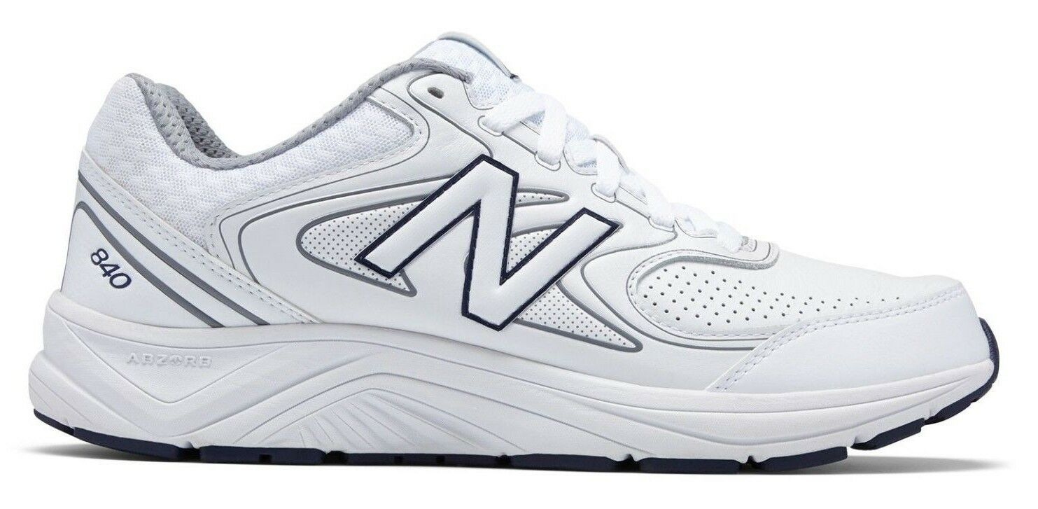 New Balance MW840WT2 Men's 840v2 White Neutral Conditioning Health Walking Shoes