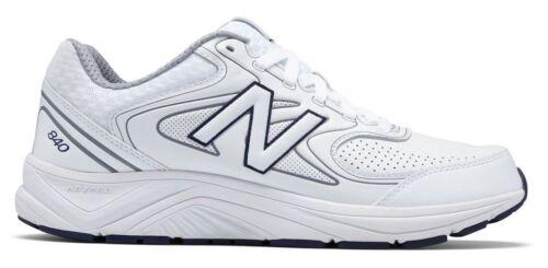 New Balance MW840WT2 Men/'s 840v2 White//Navy//Grey Leather Walking Sneaker Shoes