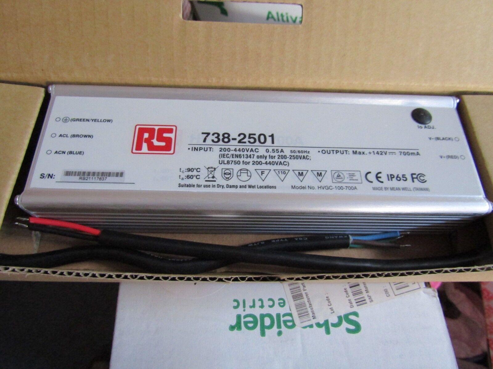 MEAN Well hvgc-Potenziometro 100-700A Corrente Costante LED Driver 100w 7382501
