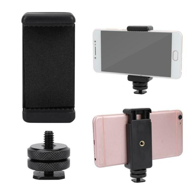 more photos bc132 3f759 1/4 Flash Hot Shoe Screw Adapter Tripod Mount Phone Clip Holder For DSLR  Camera