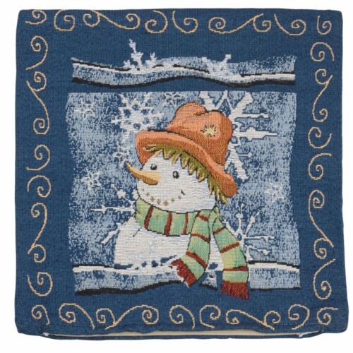 """Gorgeous Christmas Designs 18/"""" Cushion Cover Tappestry Style Cushion 45cm"""