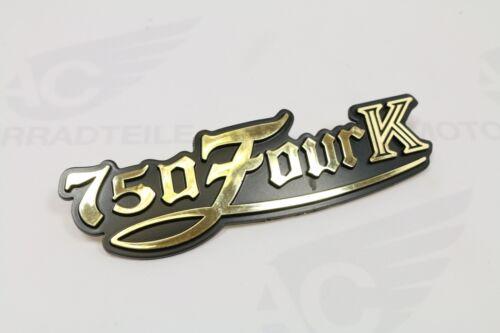 Honda CB 750 Four K7 Emblem Seitendeckel Schriftzug Seitendeckelemblem