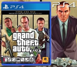 Details about PS4 New Grand Theft Auto V 5 (GTA 5/ GTA V) Online Korean  Subtitle + Free Gifts