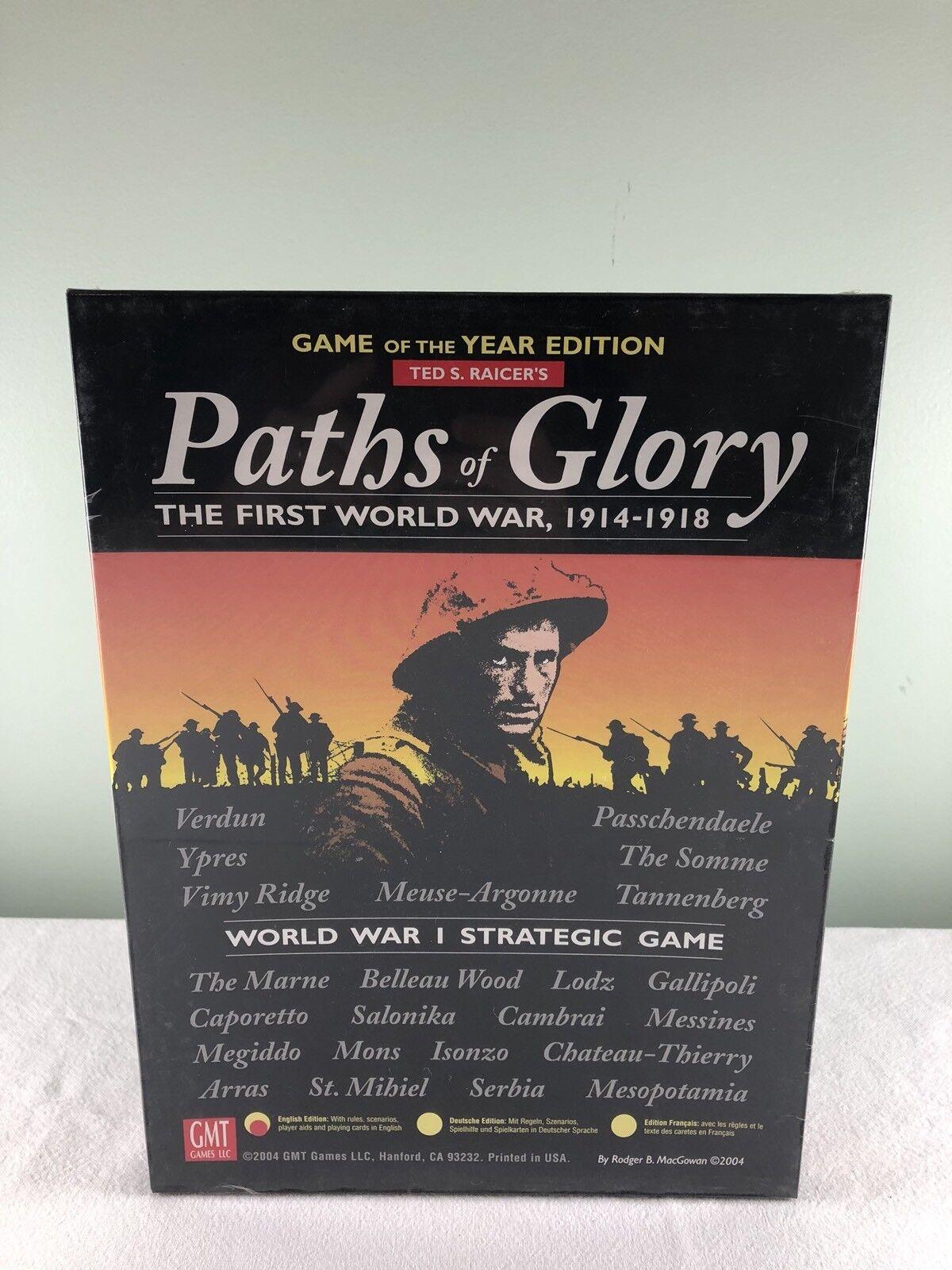 Sökvägar för Glory spel of the Year Edition Deluxe Kkonsta förseglad GMT