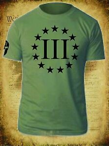 THREE-PERCENTER-T-SHIRT-MOLON-LABE-2ND-AMENDMENT-PATRIOT-3-PERCENT-USA