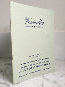 Catalogue-sales-Versailles-Objects-art-and-meubles-old-5-November-1972
