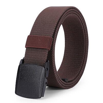 set of 3 JASGOOD YKK Plastic Buckle Nylon Canvas Web Belt Plastic Buckle for 1.5inch Wide Belt
