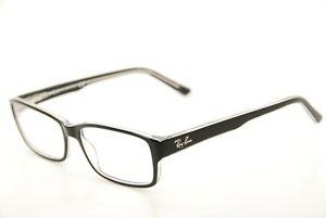 7593e963ea04b New Authentic Ray Ban RB 5169 2034 Black Clear 54mm Frames ...