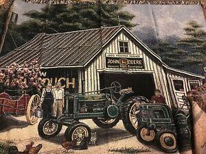 John Deere Antique Tractor Tapestry Jacket