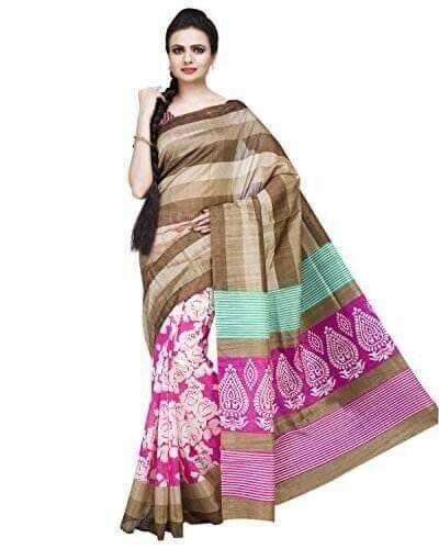 Chennai Silk Cotton Saree With Blouse Piece