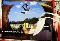 Oakley 2006 Bob Burnquist Skateboard Promotional Poster Mint Conditionnos