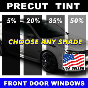 PreCut Window Film for Ford F350 Crew 1997 Front Doors any Tint Shade