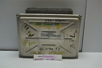 1998-1999 Pontiac Grand Am Engine Control Unit ECU ...