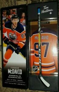 2020 Tim Hortons Connor McDavid Limited Edition NHL Superstar Stick Locker New