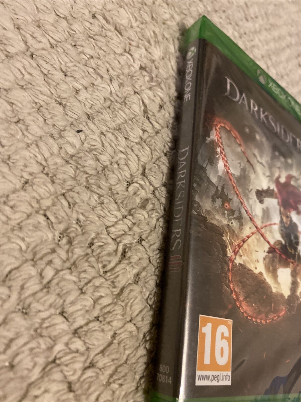 Game Xbox One Pal F New Blister Microsoft Darksiders 3 Unleash The Fury