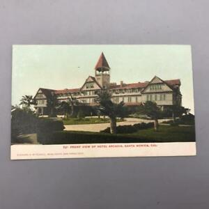 Antique-Postcard-Hotel-Arcadia-Santa-Monica-California-California-ca-1910