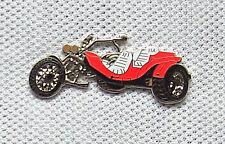 Anstecker Trike rot Motorrad Pin Bike Biker Triker