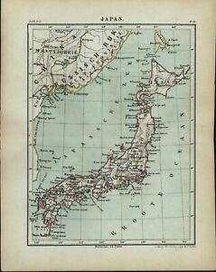 Japan-as-focus-Asia-coast-of-China-amp-Russia-1882-charming-small-Dutch-old-map