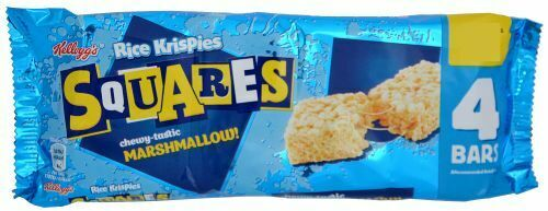 Kelloggs Rice Krispies Squares Chewy Marshmallow 4 x 20g