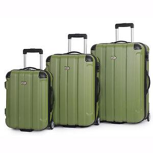 3Pc IT Luggage LIV Centurion Suitcase Trolley Set Hard Case Carry ...