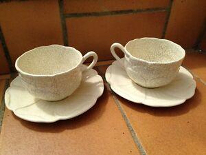 2 bols dejeuners tasses + sous tasse Faïence CHAROLLES MOLIN | eBay