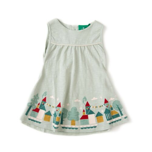 Little Green Radicals Organic House on the Hill  Dress Size 6-9 Months