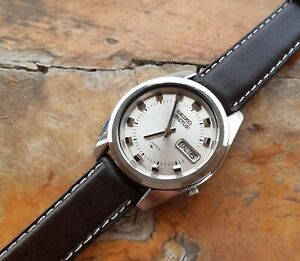 Vintage-Seiko-5-Actus-21-Jewels-Auto-7019-7040-Kanji-Day-January-1970-37mm