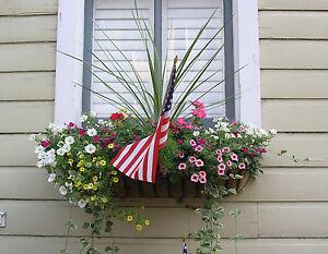 Image Is Loading 36 034 Wrought Iron Window Box Hayrack Garden