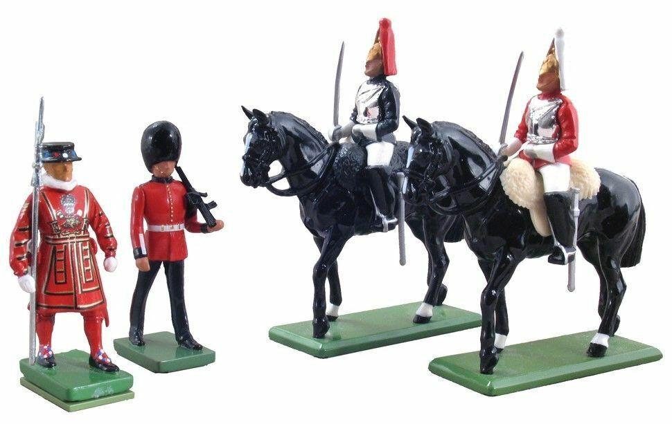 W Britain 48531 British Ceremonial London Gift Set 54mm Gloss Finish