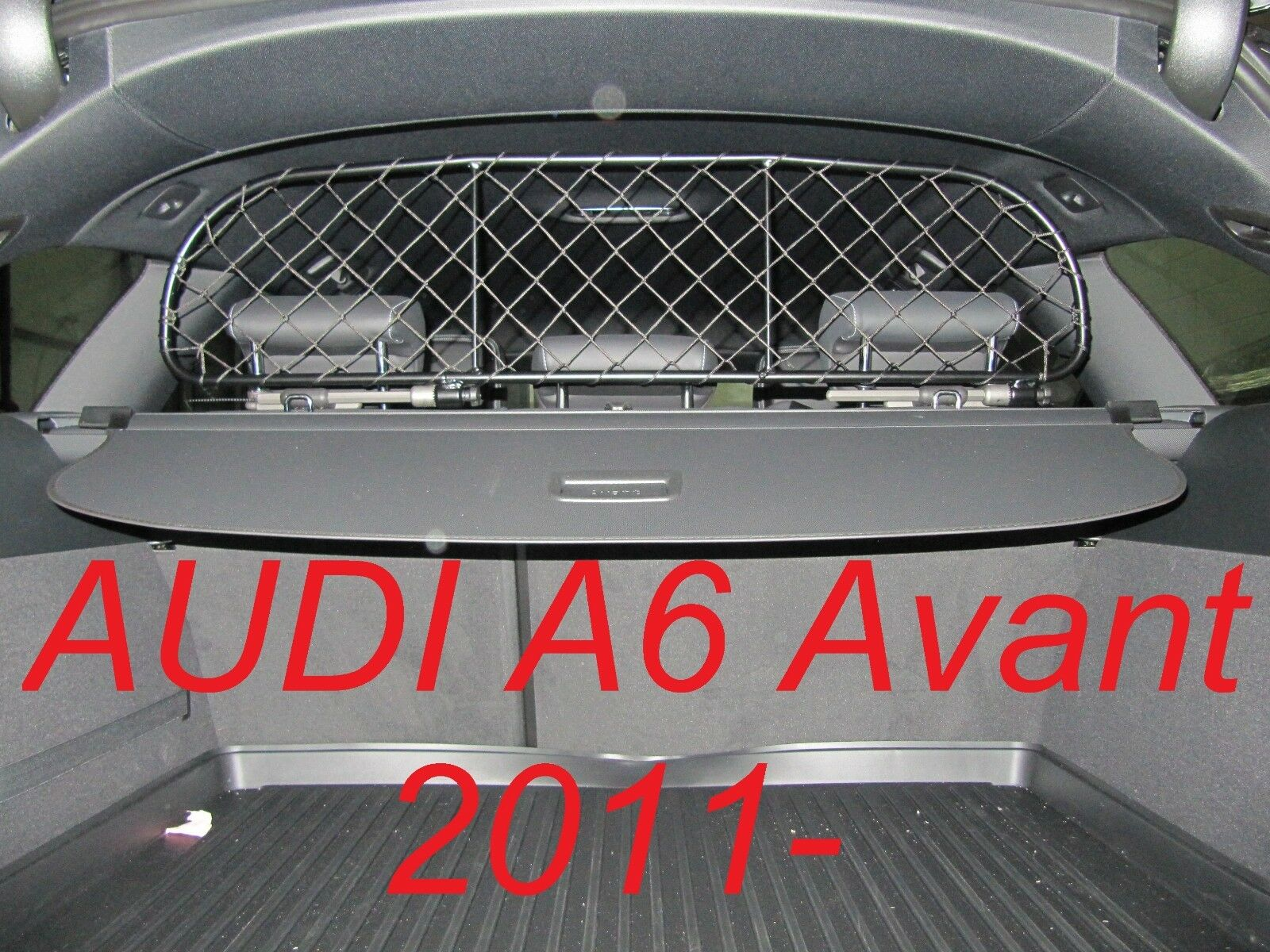 Dog Guard, Pet Barrier Net and Screen AUDI A6 Avant 2011  - baggage & pets