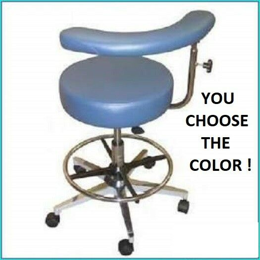 Miraculous Galaxy 1067 R Round Seat Dental Assistants Hygienist Stool Chair W Ratchet Arm Pdpeps Interior Chair Design Pdpepsorg