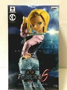 DRAGON BALL Z ANDROID 18 SCULTURES 6 FIGURE FIGURA NUEVA NEW