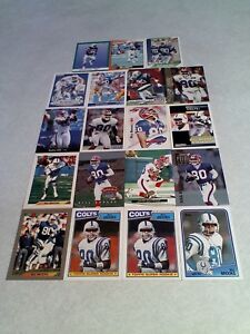 Bill-Brooks-Lot-of-85-cards-38-DIFFERENT-Football