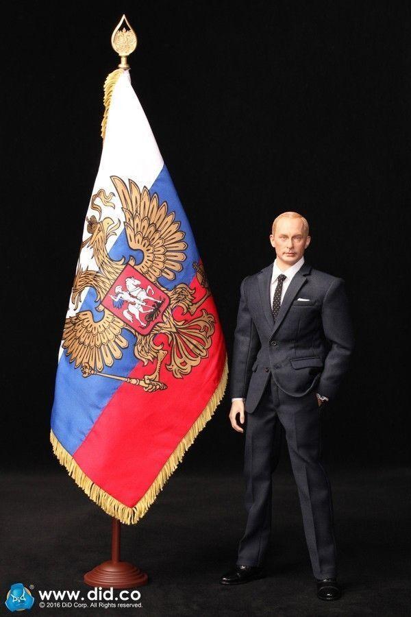 NEW DID 1 6 Vladimir Putin - President of Russia R80114 Figure Model Collection